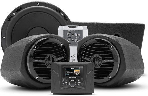 Polaris General Stage 3 400 watt stereo, front lower speaker, and subwoofer kit for select Polaris GENERAL™ models