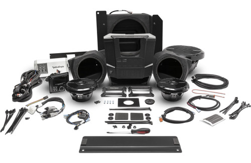 Polaris Ranger Stage 3  400 watt stereo, front lower speaker, and subwoofer kit for select RANGER® models