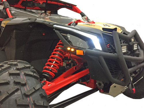 Maverick X3 Turn Signal Kit with Signature Lights