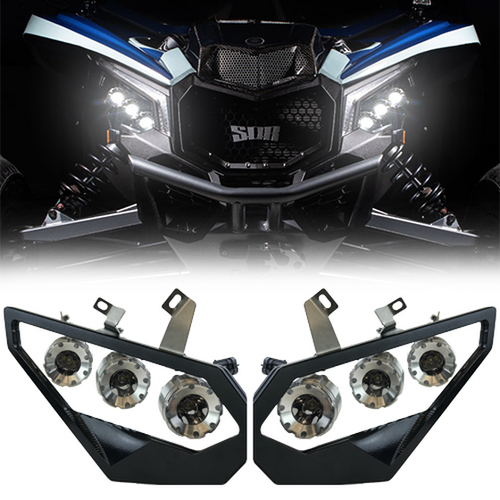 Heretic Studio Maverick X3 Headlights Black Standard