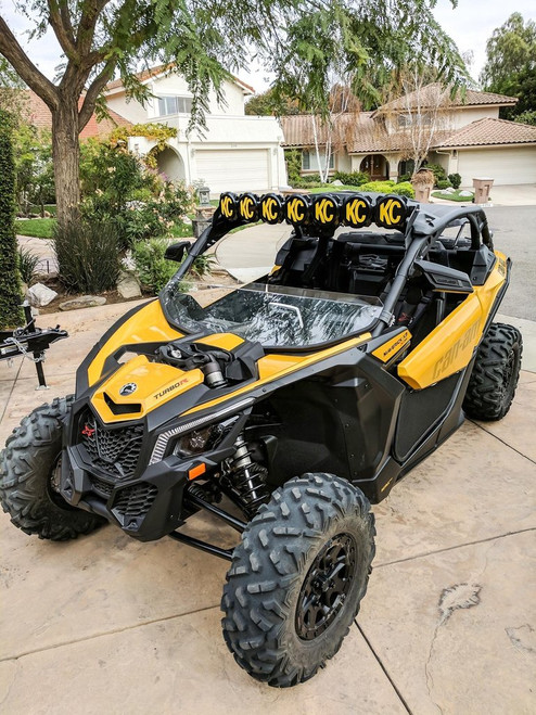"KC Hilites Gravity LED Pro6 17-19 Can-Am Maverick X3 7-Light 45"" LED Light Bar - #91334"