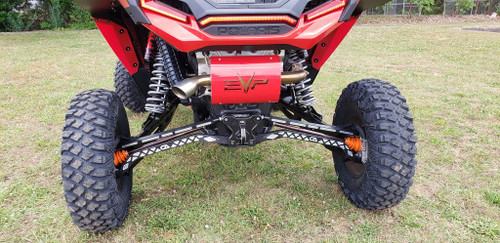 CA TECH RZR TURBO S BILLET REAR PULL PLATE