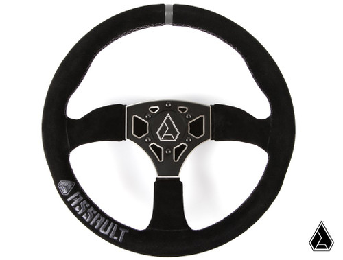 **NEW** Assault Industries 350R Suede Steering Wheel (Universal)