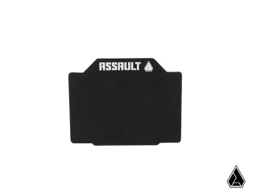 "**NEW** Assault Industries 4"" x 3"" UTV Registration Plate (Universal)"