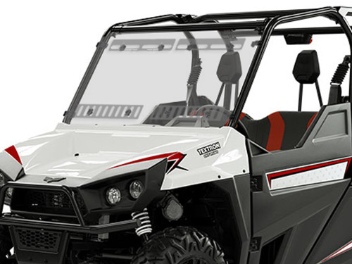 TEXTRON STAMPEDE FULL WINDSHIELD W/DUAL VENTS-HC