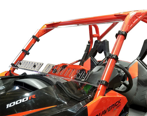 CAN AM MAVERICK WINDSHIELD w/DUAL VENTS-HC