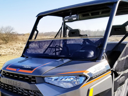 POLARIS RANGER FULL-SIZE 2013-CURRENT PRO-FIT TUBING HALF SHIELD-TINTED-GP