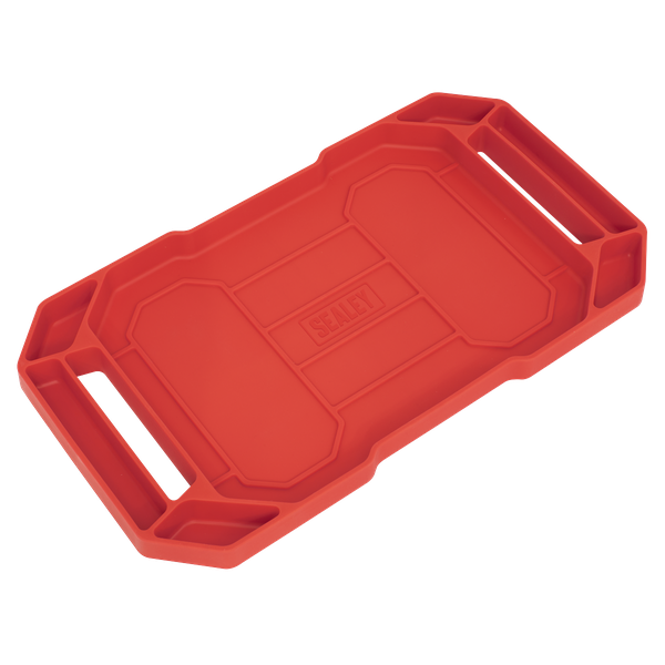 Sealey Flexible Tool Tray Non Slip APNST3   Can be used as mobile tool storage around the garage or workshop or alternatively used for tidy in-tray storage in rollcabs and toolboxes.   toolforce.ie