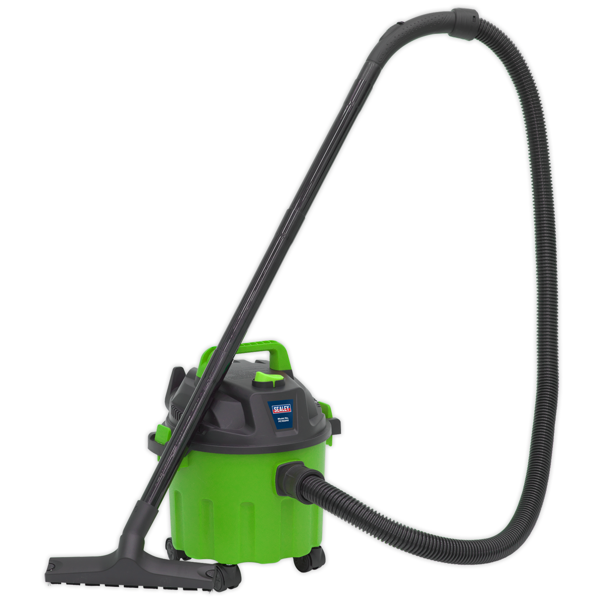 Vacuum Cleaner Wet & Dry 10L 1000W/230V - Hi-Vis Green | High powered, lightweight, wet and dry unit with blower facility. | toolforce.ie