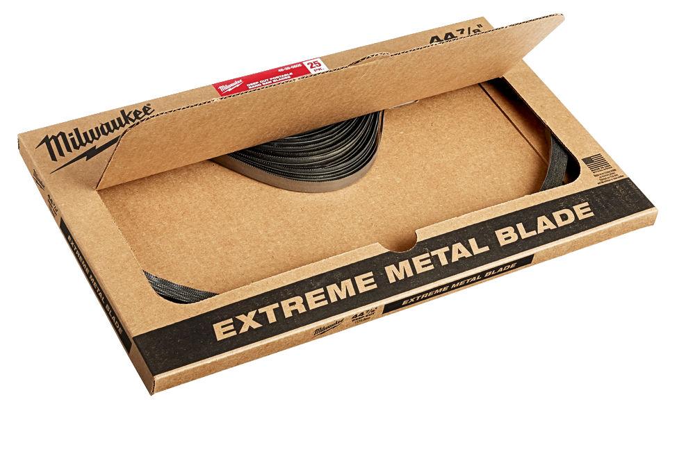 Milwaukee Premium Bandsaw Blades 1139.83mm x 8/10TPI Pack of 3