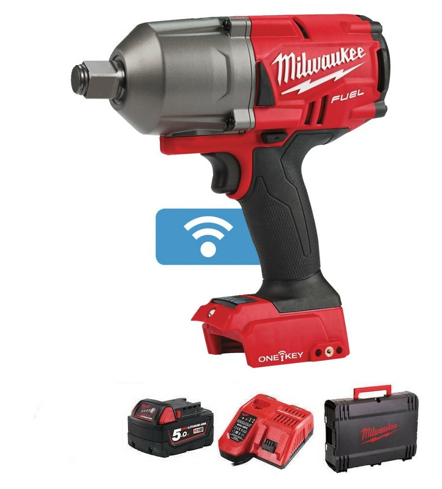 """Milwaukee M18 Fuel High Torque Impact Wrench 3/4""""DrWith One-Key M18ONEFHIWF34-501X"""