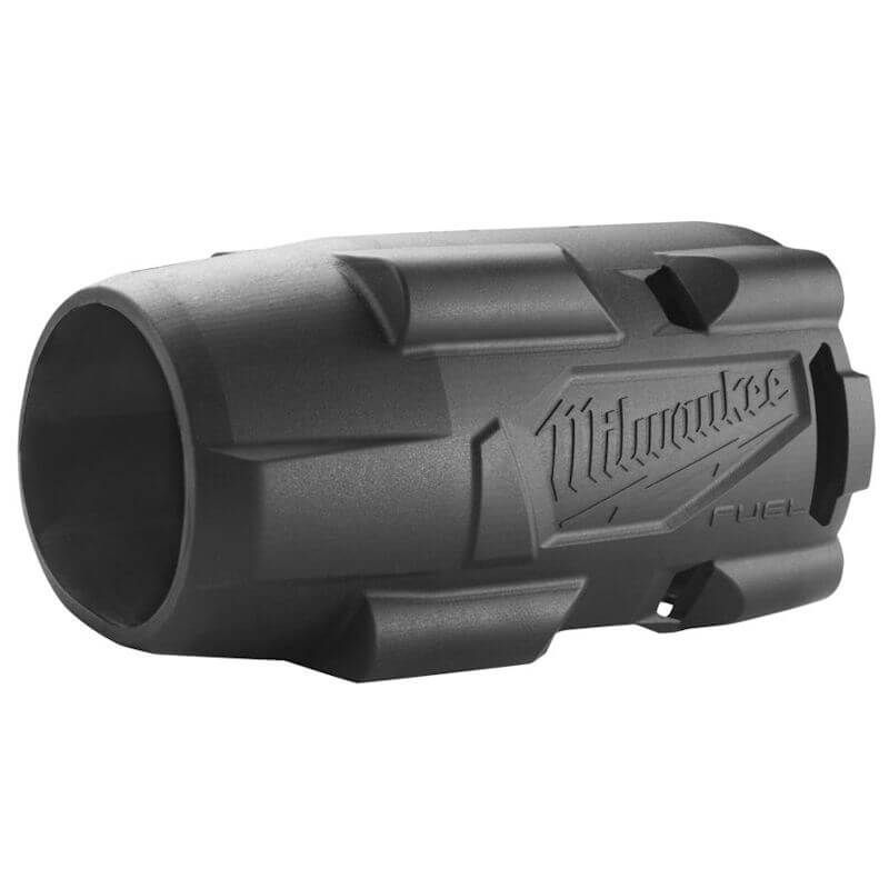 MILWAUKEE RUBBER BOOT PROTECTION SLEEVE (FOR M18 FMTIW2), Form-fitting, lightweight design protects the tool and work surface while adding minimal size or weight to the tool.