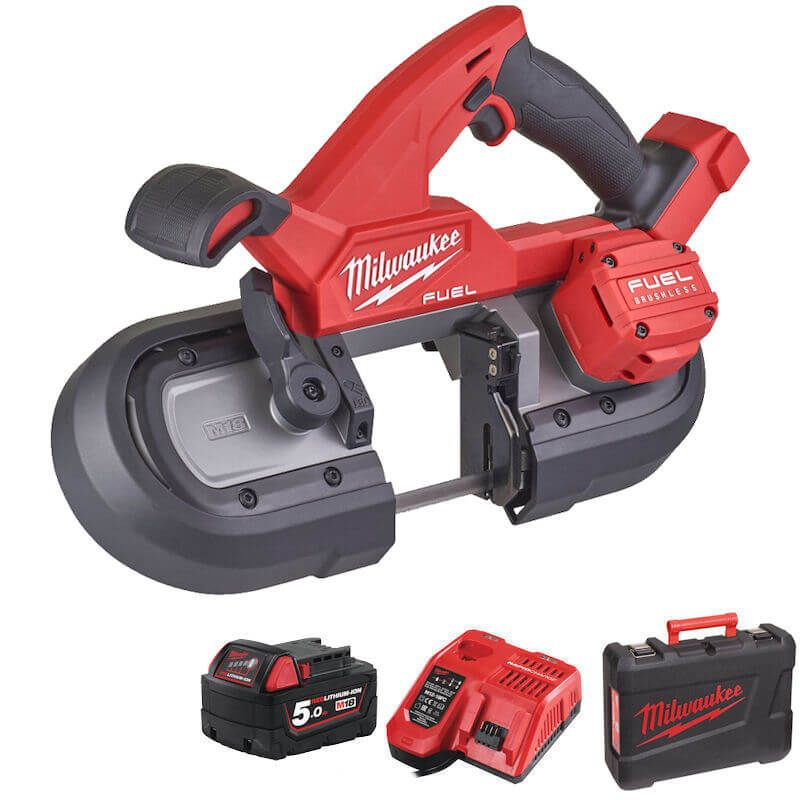 MILWAUKEE M18 FUEL COMPACT BANDSAW 85MM M18FBS85-501C