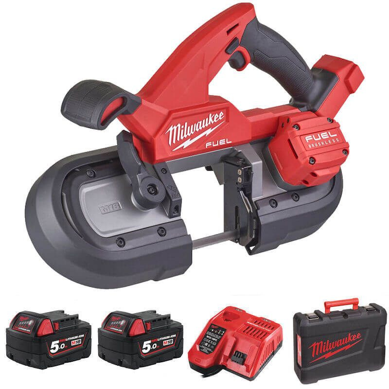 MILWAUKEE M18 FUEL COMPACT BANDSAW 85MM M18FBS85-502C
