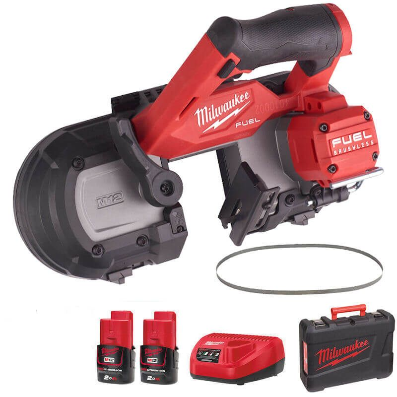Milwaukee M12 FUEL COMPACT 64MM BANDSAW M12FBS64-202C