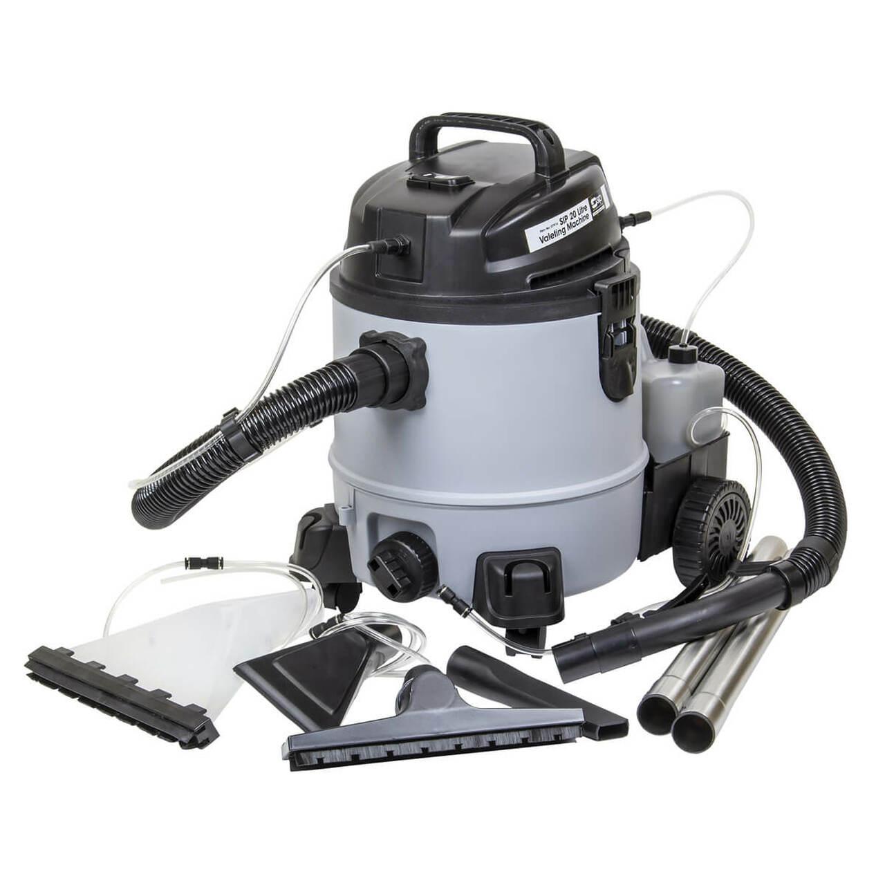 SIP  Valeting Machine 20L 1400w  Kit 07916
