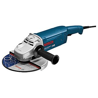 Bosch 230mm 9 Inch Angle Grinder GWS 20-230V GWS20-230 | A long operational life is ensured by armoured coils that protect the motor from sharp grinding dust | toolforce.ie