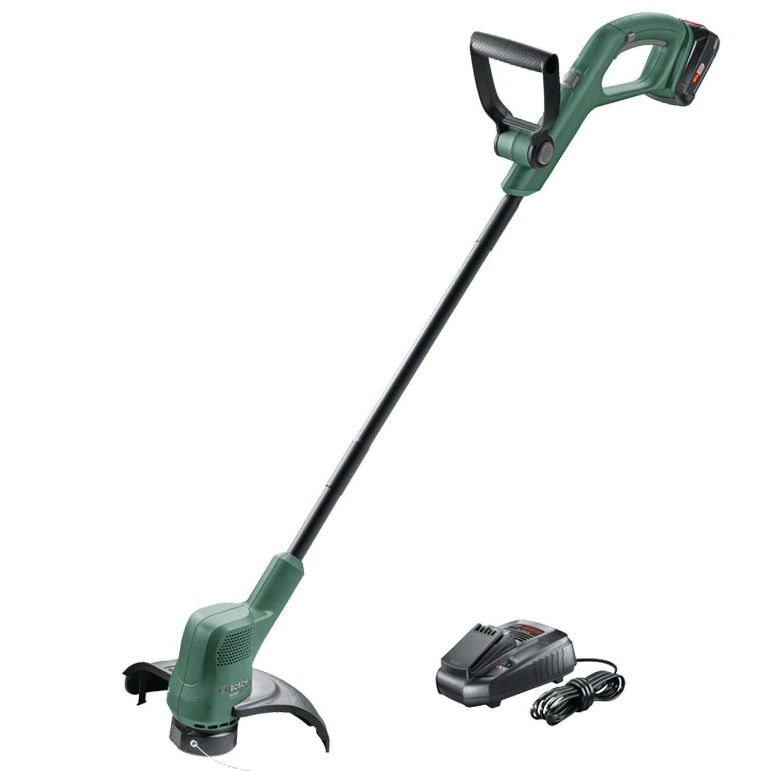 BOSCH 18V Cordless Grass Trimmer Easy Grass Cut 06008C1A70   Ideal for grass and weed cutting, lawn trimming, and edging.   toolforce.ie