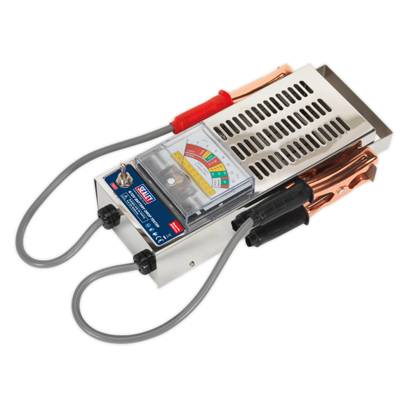 Sealey 6/12V Battery Drop Tester BT91/7 | Applies load across cells and measures output on meter. | toolforce.ie