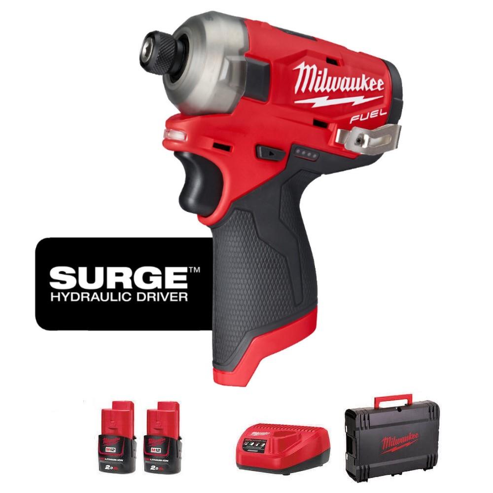 Milwaukee M12 Fuel Surge Impact Driver Kit M12FQID-202X