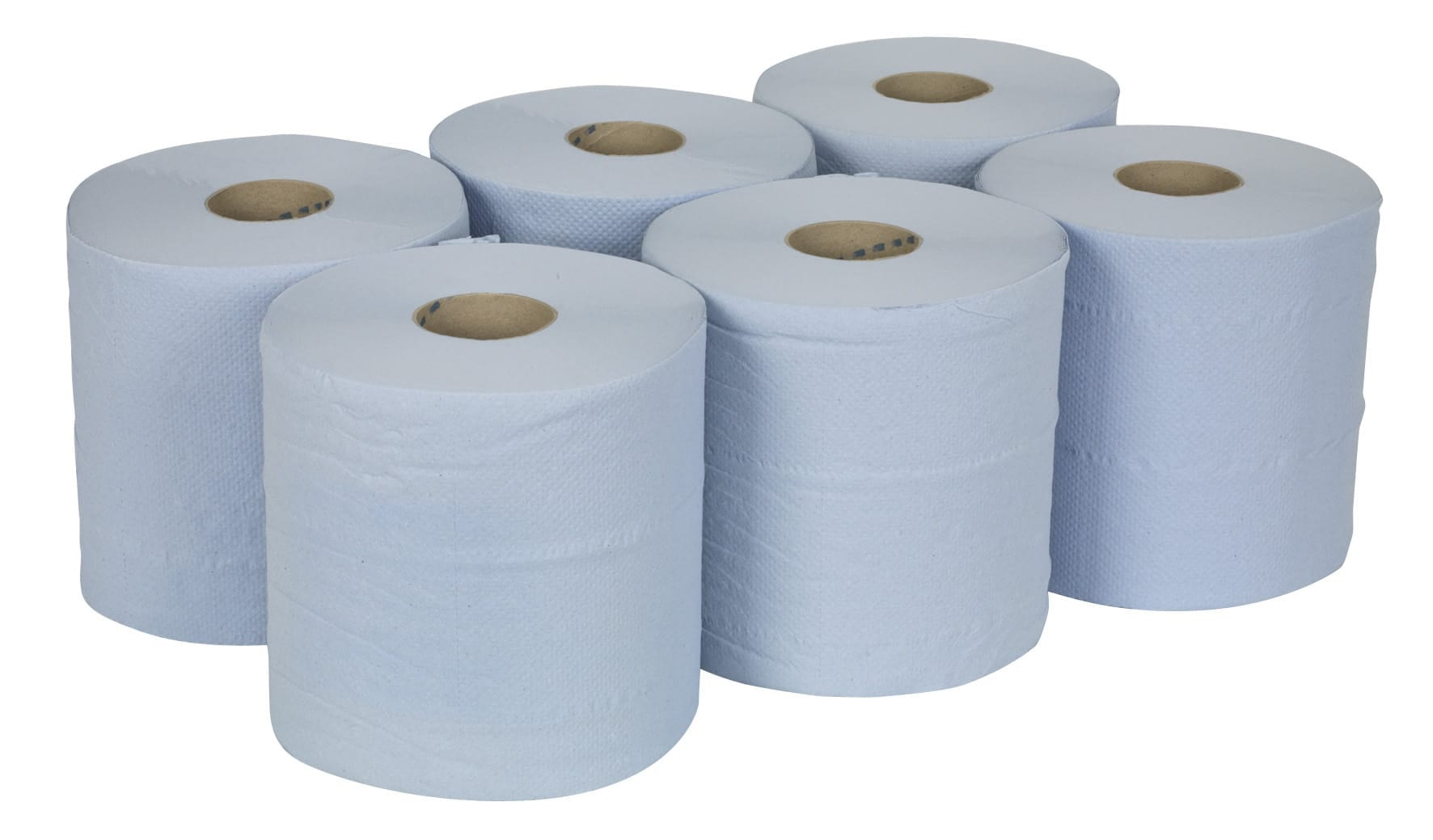 blue roll 6 pack centrefeed