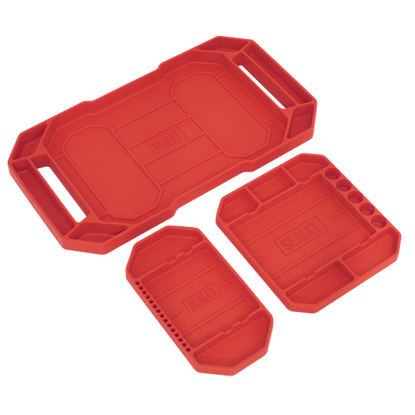 Sealey Flexible Tool Tray Non Slip APNST4   Oil and water resistant.   toolforce.ie