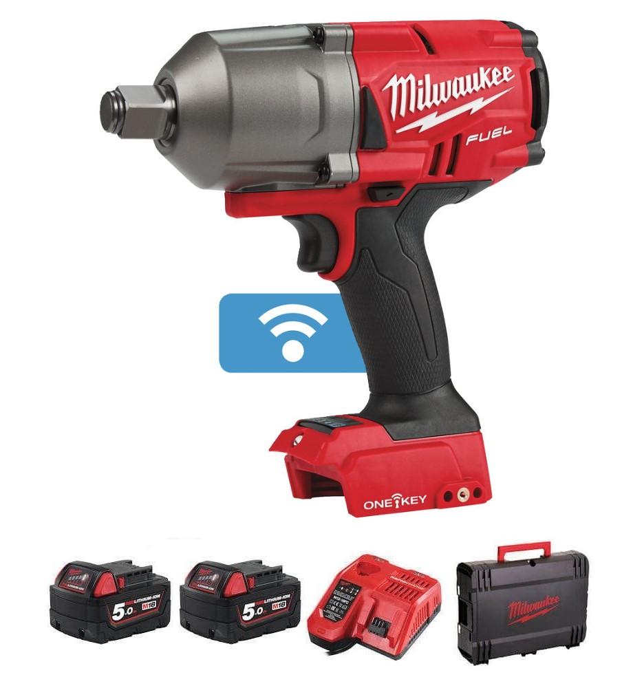 "Milwaukee M18 Fuel High Torque Impact Wrench 3/4"" M18ONEFHIWF34-502X"