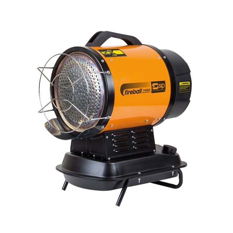 SIP 74.000 BTU INFRARED DIESEL PARAFFIN HEATER 09311 quiet heater ideal for workshop or warehouse