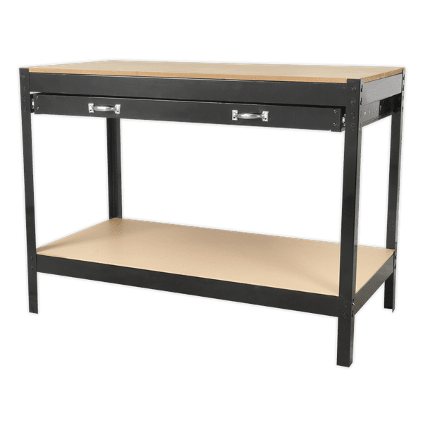 SEALEY WORK BENCH AP12160 | Boltless design makes the unit easy to assemble, with minimal tools being required. | toolforce.ie