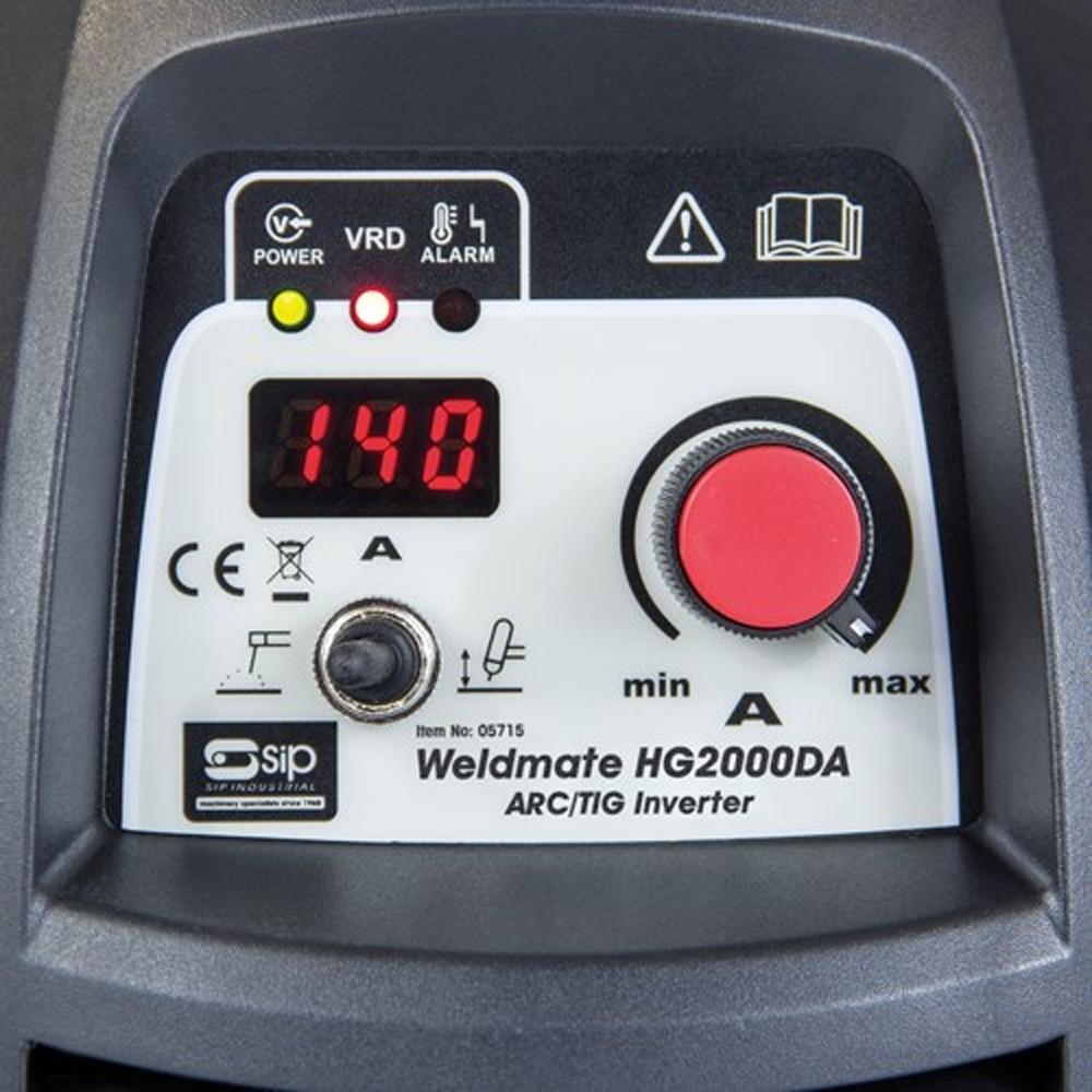 Sip Arc Inverter Welder HG2000DA