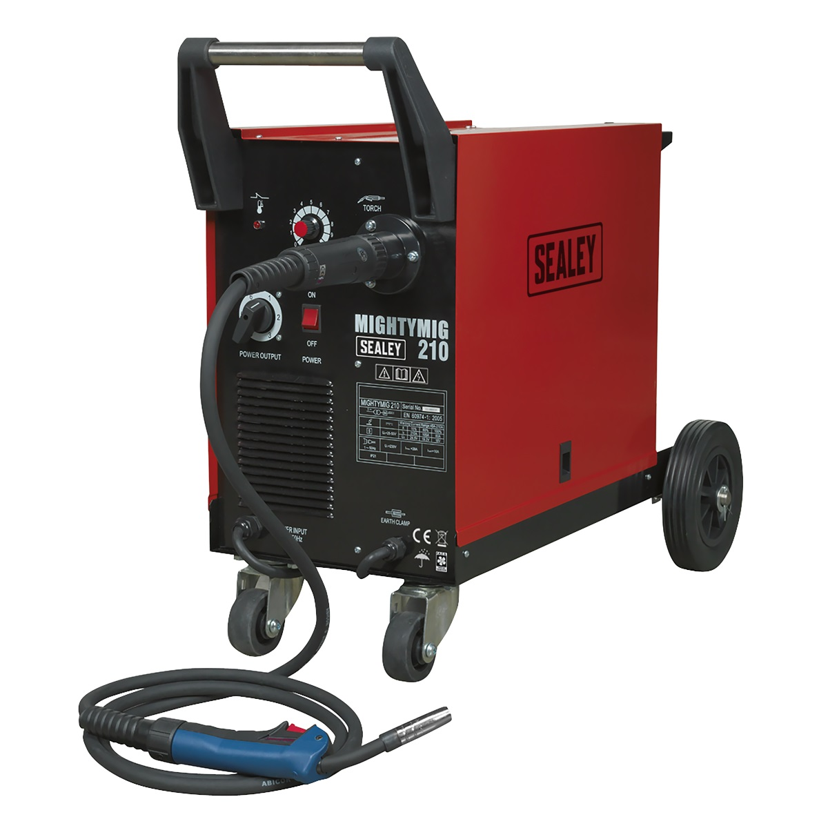 SEALEY Professional Mighty MIG Welder 210Amp MIGHTYMIG210   Ultimate performance at an extremely competitive price   toolforce.ie