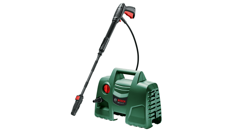 BOSCH Pressure Washer Easy Aquatak 100 (06008A7E71)   This compact high-pressure washer offers fast and effortless cleaning performance.   toolforce.ie
