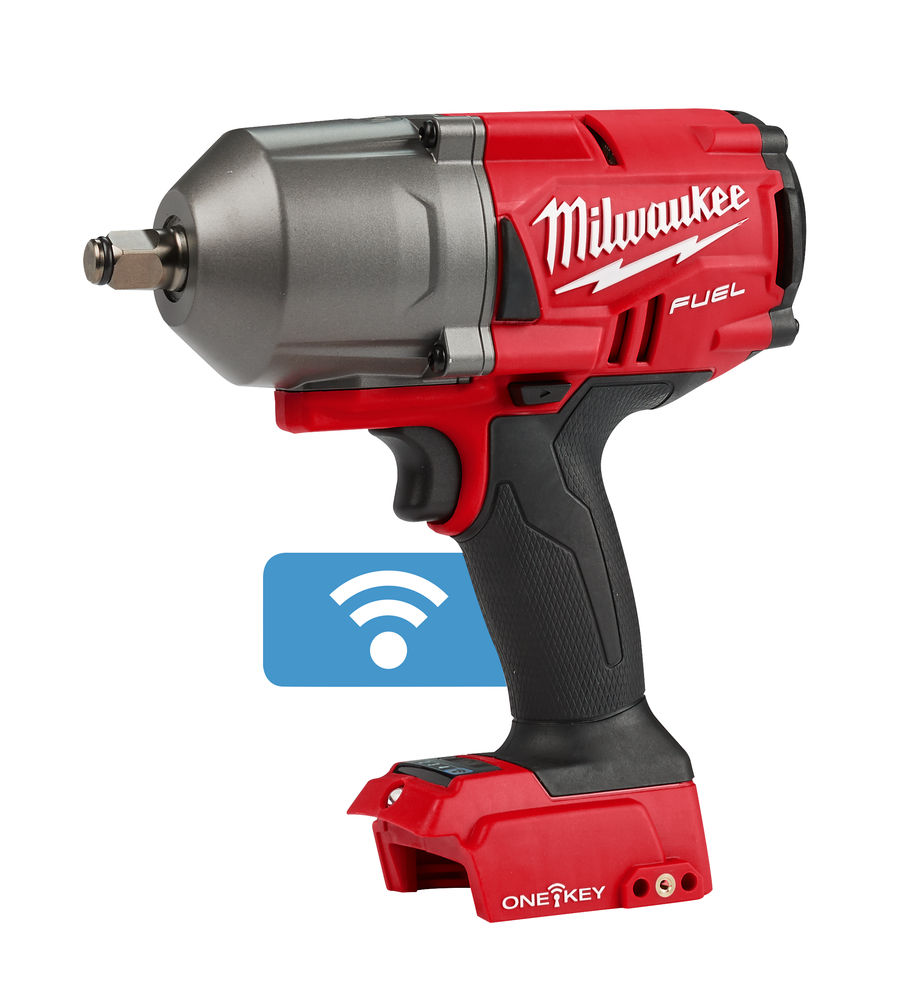 Milwukee M12 fuel high torque impact wrench with one key