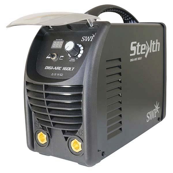 SWP Stealth Digi-Arc 160LT 9021H | The Digi-Arc Welder 160AMP is the latest 160 amps MMA inverter welder from Stealth. | toolforce.ie