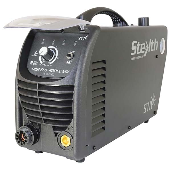 SWP Stealth Digi-Cut Plasma Cutter 40PFC MV (CW PC7100H) 9030H | The Stealth DIGI-CUT 40PFC MV Plasma Cutter sports a robust internal support frame. | Toolforce.ie
