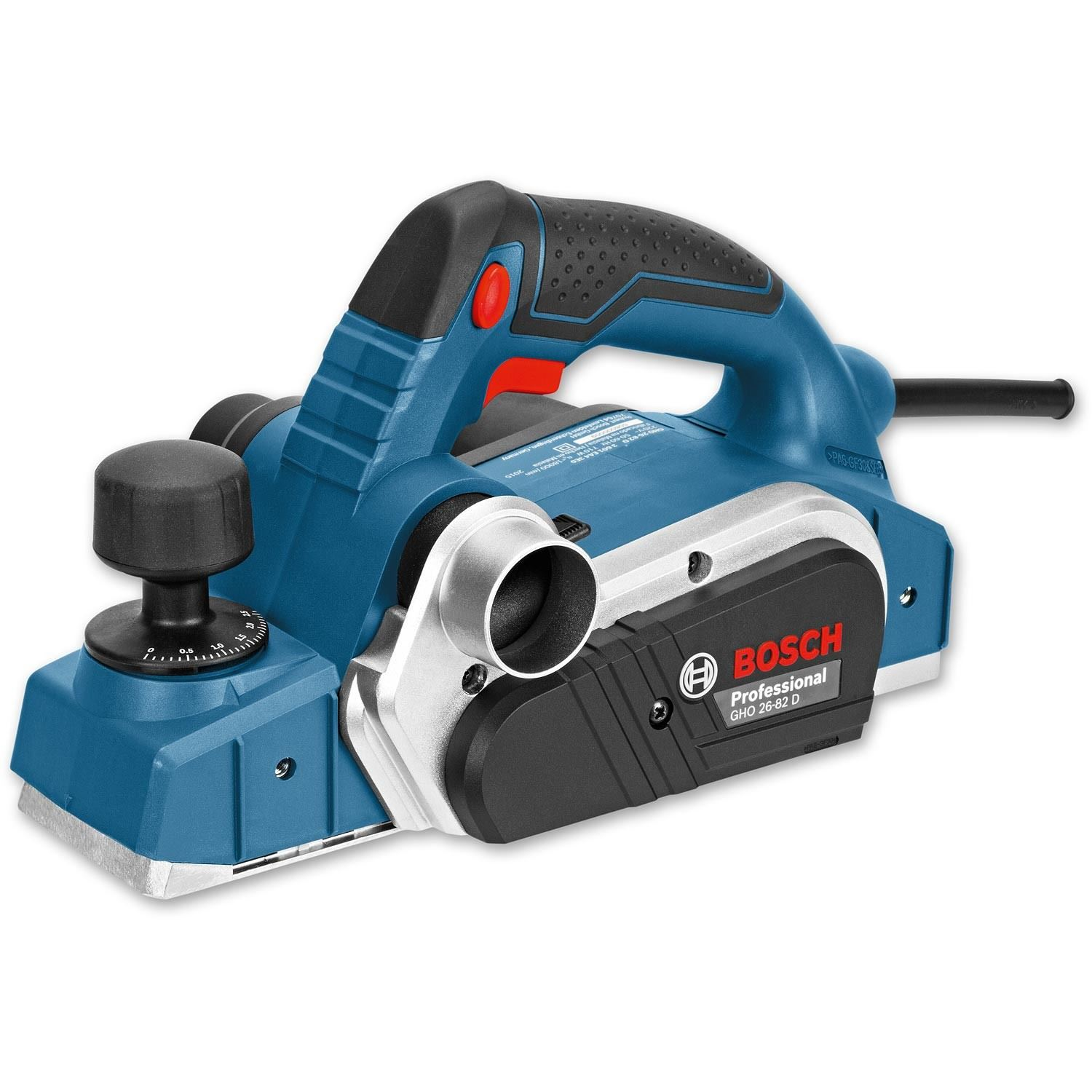 BOSCH GHO 26-82 D Professional Planer 650W 230V 06015A4370   The Bosch GHO 26-82 D is a small, handy machine with powerful 710W motor for all on-site fitting work.   toolforce.ie
