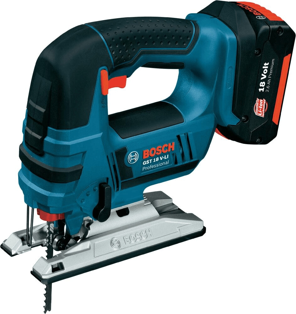 Bosch GST 18V-LI B Professional Cordless Jigsaw 06015A6174   Tool-free Bosch SDS-system makes changing saw blades easy.   toolforce.ie
