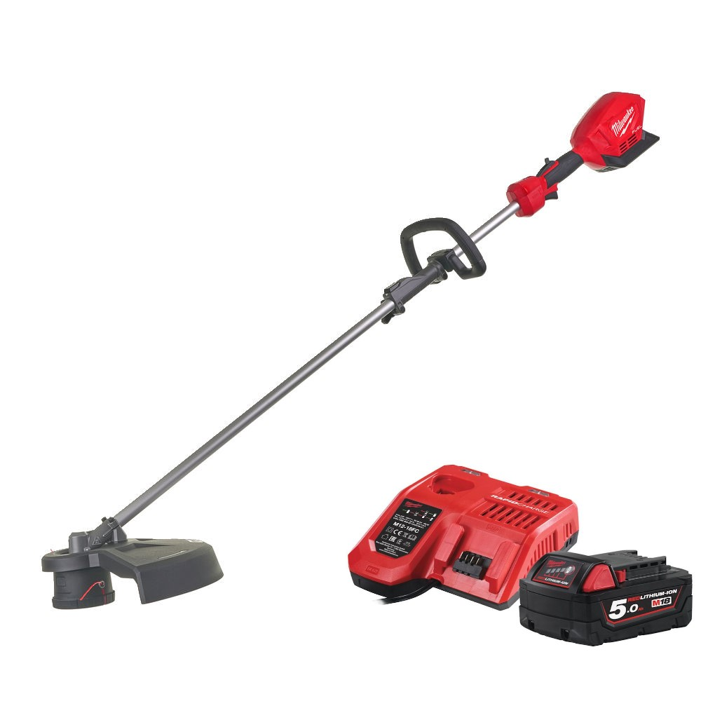 Milwaukee M18 Fuel Line Trimmer  M18FOPHLTKIT-501 kit with battery