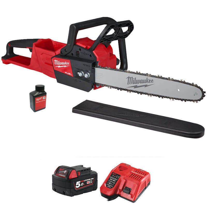 18v battery chainsaw with battery and charger