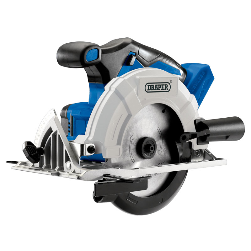 Draper D20 20V Brushless Circular Saw with 1x 3Ah Battery and Fast Charger (D20CS165SET)