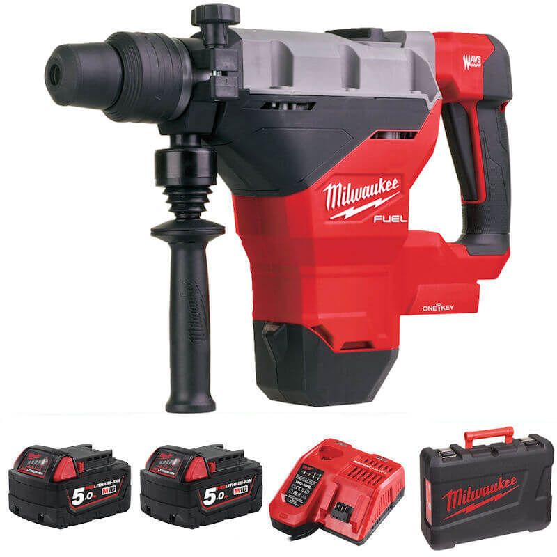 Milwaukee M18 Fuel Breaking Hammer Drill With One-Key M18FHM-502C