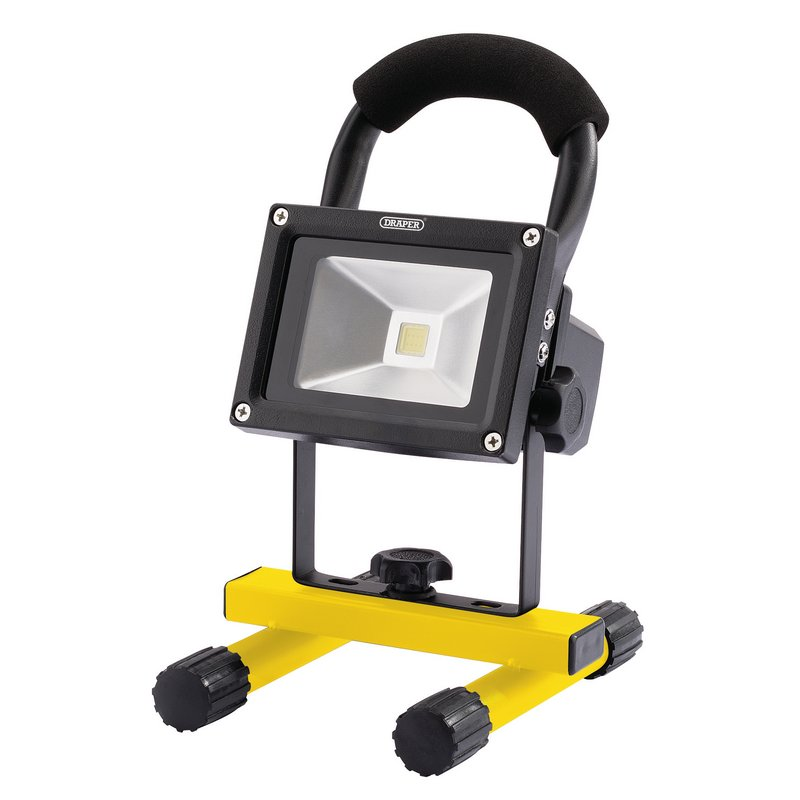 Draper COB LED Rechargeable Worklight, 10W, 800 Lumens (RWL10LEDD)