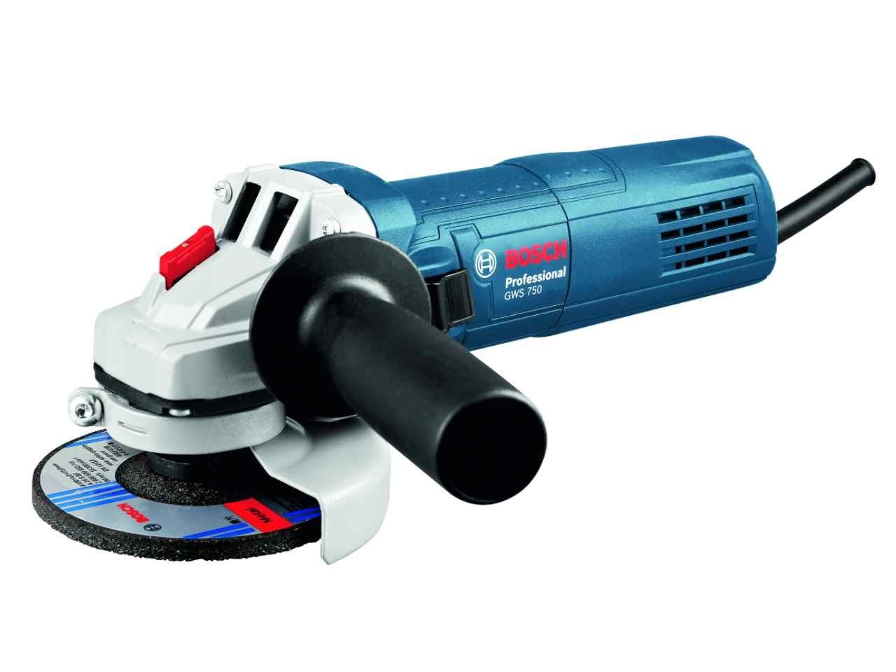 """Bosch Angle Grinder - Slim Grip 115mm / 4.5"""" 240V GWS750 