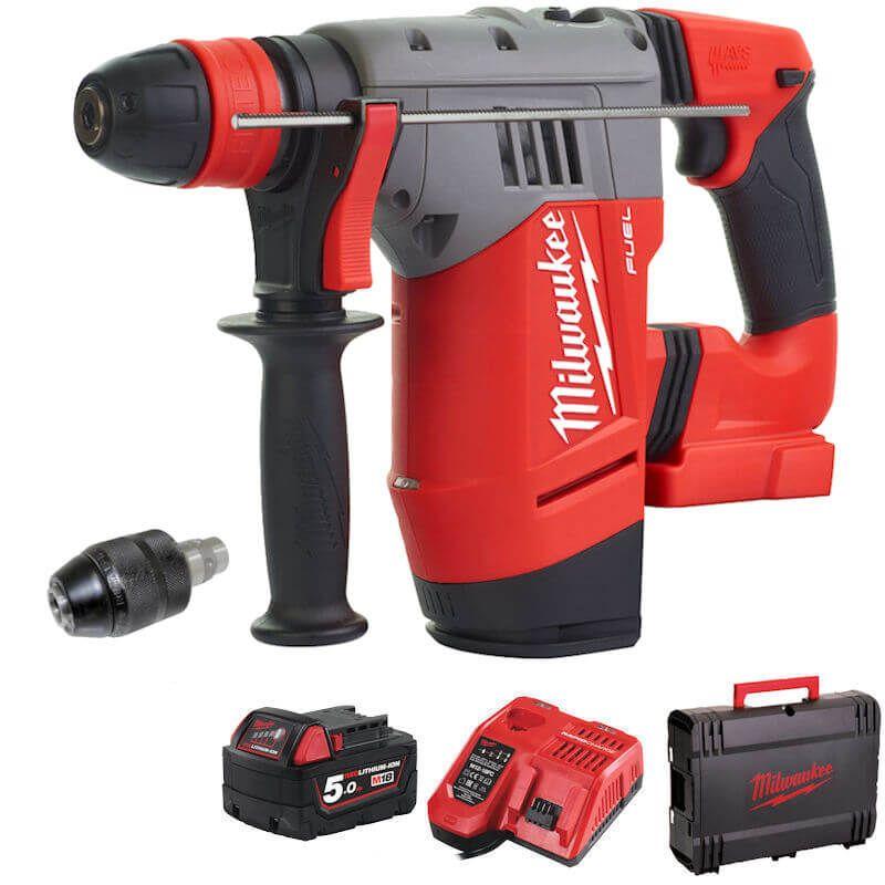 Milwaukee M18 Fuel Professional SDS+ Hammer Drill M18CHPX-501X