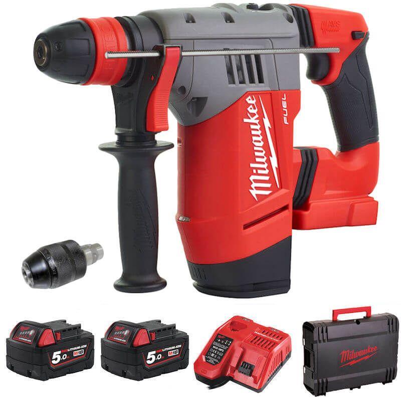 Milwaukee M18 Fuel Professional SDS+ Hammer Drill M18CHPX-502X