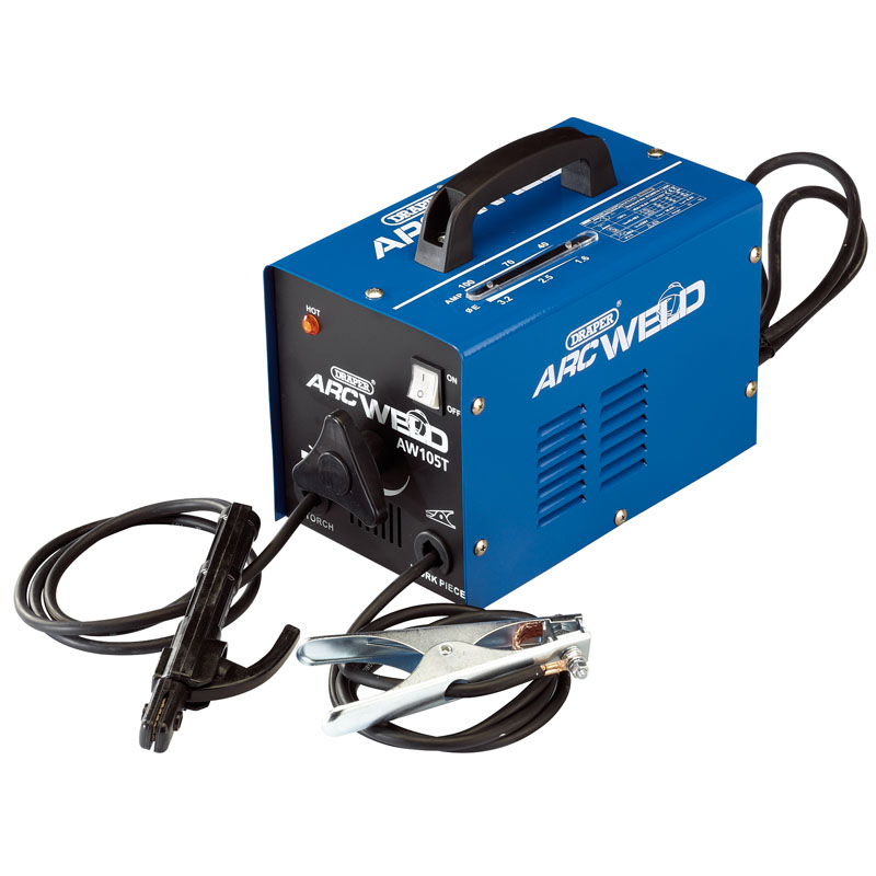 Draper 230V Turbo ARC Welder, 100A (AW105T) | Multi - purpose machine suitable for experienced and DIY users alike. | toolforce.ie