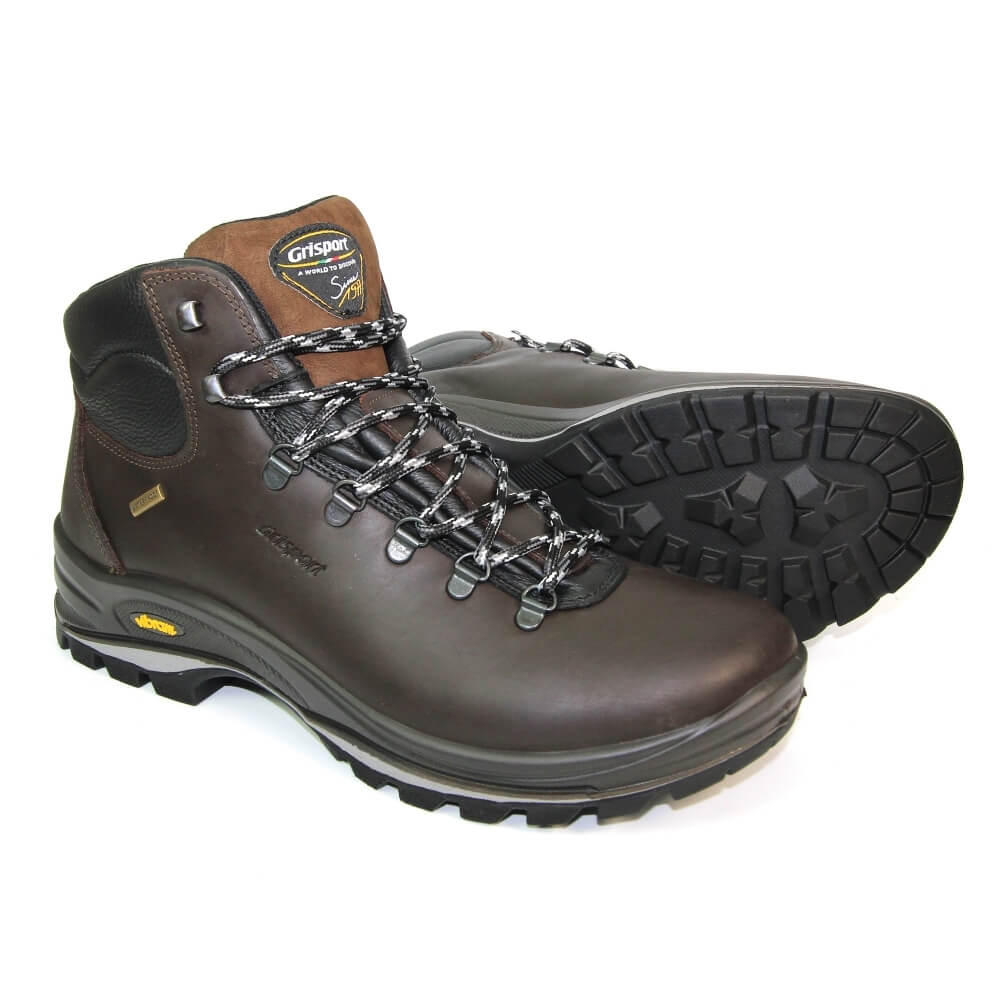 GRISPORT FUSE LOWLAND HIKING WALKING BOOTS BROWN