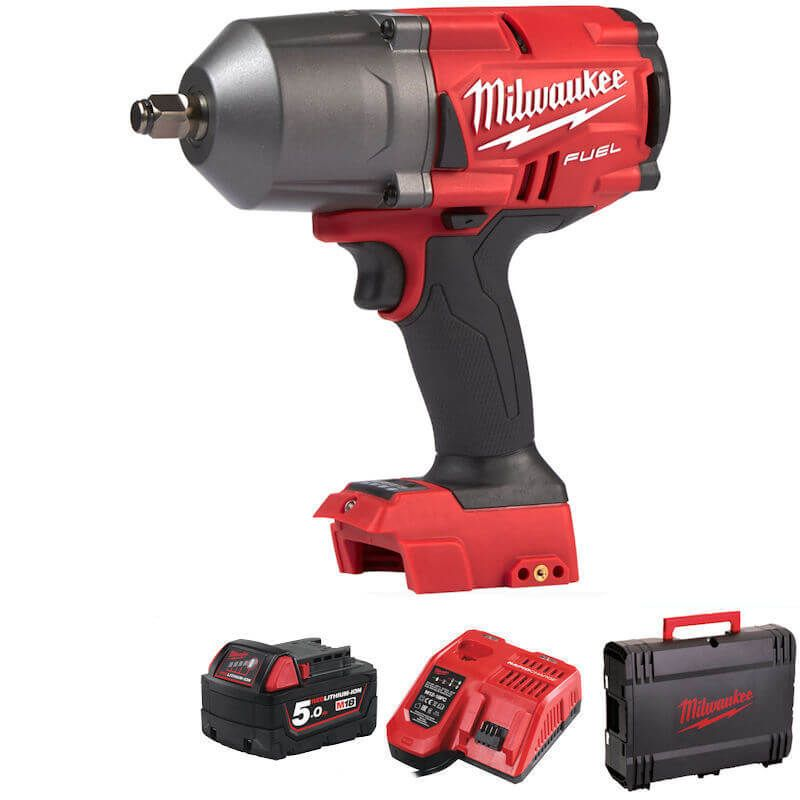 """Milwaukee M18 Fuel High Torque Impact Wrench 1/2"""" Drive 1898Nm of Torque"""