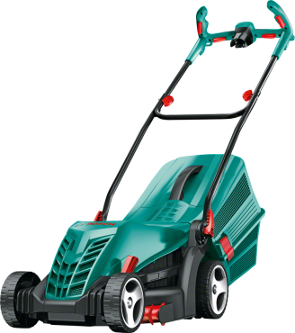 BOSCH ROTAK 36R ELECTRIC 230V LAWNMOWER 06008A6273 | Perfect finish: the new Powerdrive system delivers consistently high torque in all conditions. | toolforce.ie
