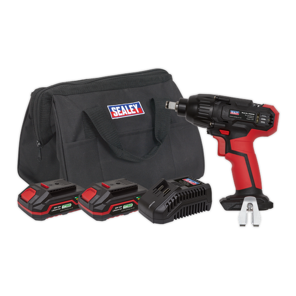 """SEALEY 20V 1/2"""" Impact Wrench Kit CP20VIWKIT 